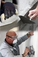 Preparing a wall