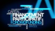 Financement participatif crowdfunding nuage de mots vidéo