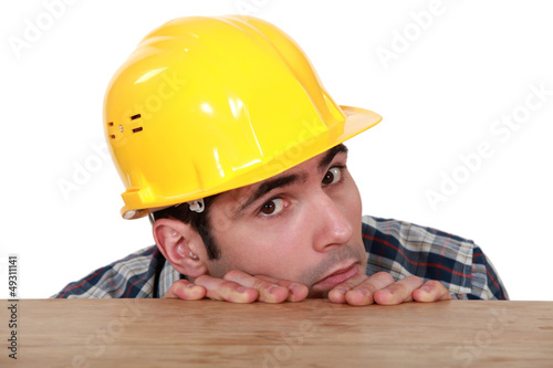 A fearful and timid tradesman