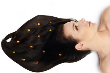 nice  glossy hair