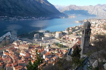 View over Kotor Bay, Montenegro