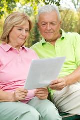 Seniors read