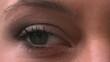Close up of womens eye