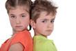 Children having a disagreement