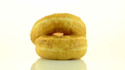 Donuts turning