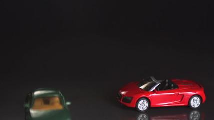 Toy car crash