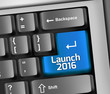 "Keyboard Illustration ""Launch 2016"""