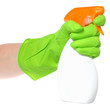 Cleaner in a hand