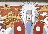 Fototapete Japan - Zeichnung - Mann