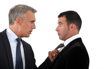 Businessmen having an argument