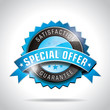 Vector Special Offer Labels Illustration with shiny design