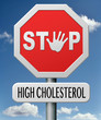 stop high cholesterol