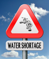 water shortage