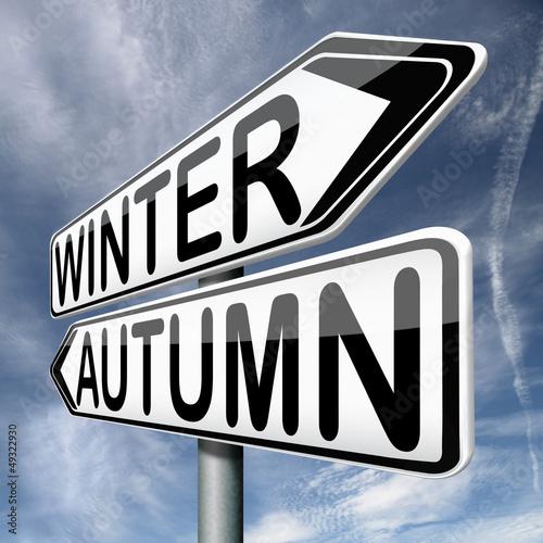 winter autumn