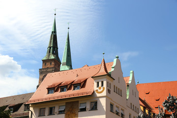 Historische Architektur in Nürnberg