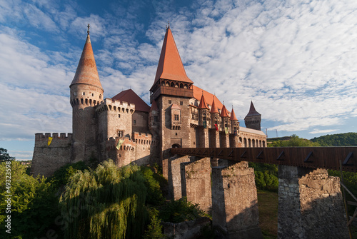 Corvin's (or Hunyadi) Castle in Hunedoara, Romania