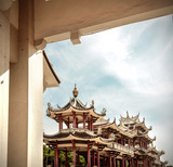 Fototapeta azja - piękny - Starożytna Budowla