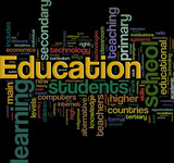 Education wordcloud