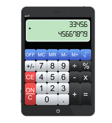 Tablet PC as Calculator
