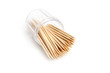 wooden toothpick as element care for cavity mouth