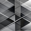 Black modern geometric abstract background