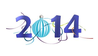 2014, boule de noël