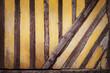 Fond mur à colombage rustique