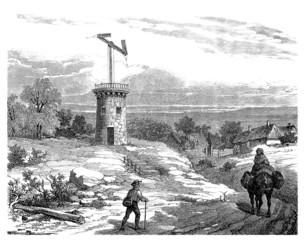 Optical Telegraph - Tower - 18th century