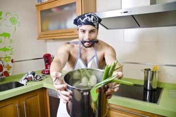 Cocinero loco