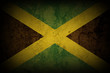 JAMAICAN FLAG ON HEART