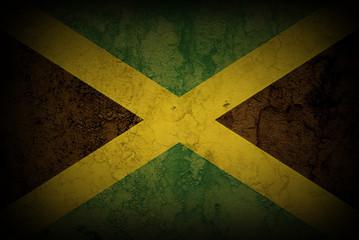JAMAICAN FLAG ON HEART