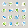 Paper Cut - Logistic and Shipping icons