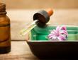 dropper of hyacinth essence