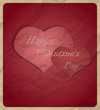 Valentine's Day card.Vector illustration
