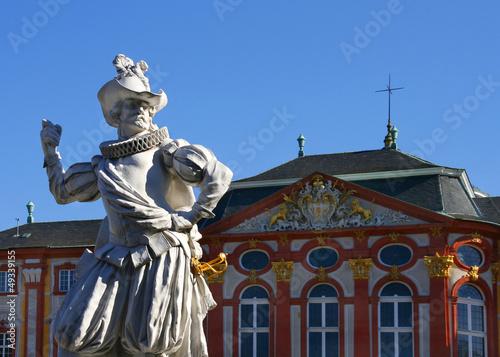 Statue im Schlosspark Bruchsal