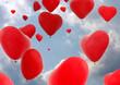 Herzförmiger Luftballon - 49339325