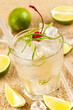 Light drink with lime