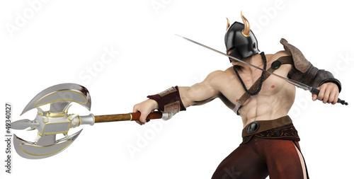 barbarian side atack
