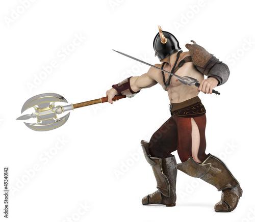 barbarian side fatal atack