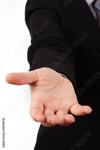 Business Woman Hand for Help
