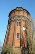 Water tower from 1912 in the city Groningen.(The Netherlands)