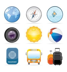 Travel Icon Set 2