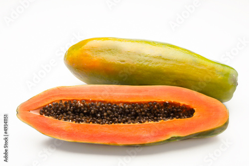 Papaya fruit.