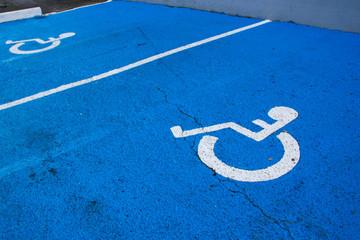 Places handicapés