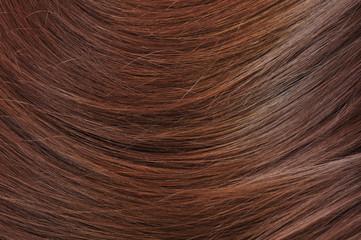 brunette hair texture