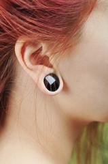 Tunnels in ear