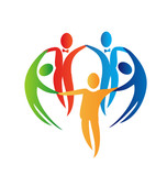 Diversity people logo