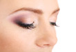 Beautiful female eyes with bright  make-up, close up