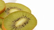 Kiwi slices. Close up. Loop