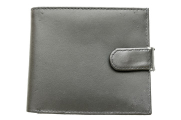 Top view of a wallet